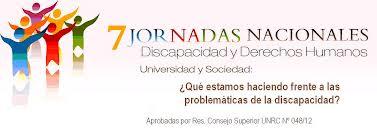 7 Jornada Nacional de Discapacidad y Universidad