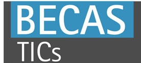 Logo Becas Tics